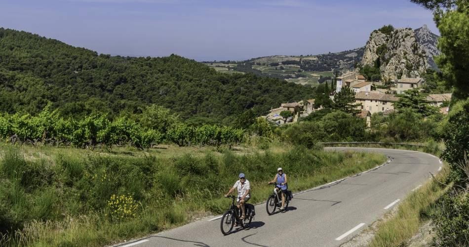 16 - Au pied des Dentelles@Eric Pigeat pour Ventoux Provence