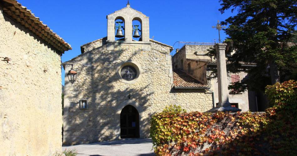 Discovery itinerary - chapels from Beaumont-du-Ventoux@HOCQUEL Alain - Vaucluse Provence