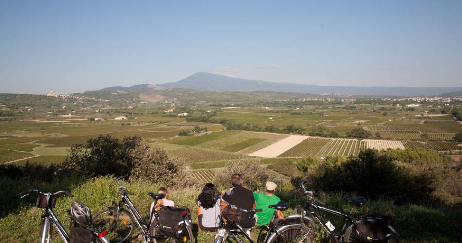40 - Le Tour du Comtat Venaissin à vélo@Droits gérés Christophe Constant