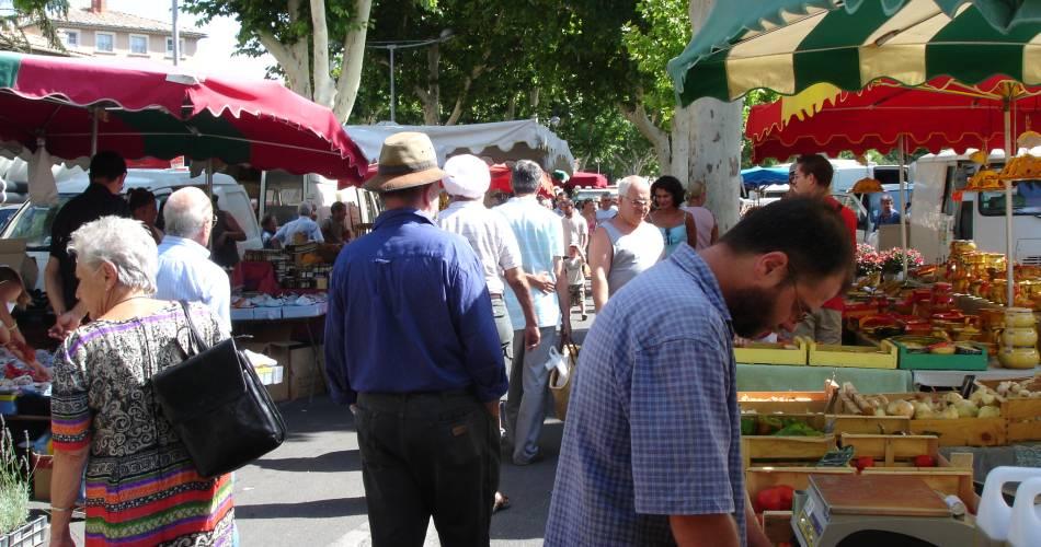 Wochenmarkt mit Auszeichnung@Office de Tourisme de Carpentras