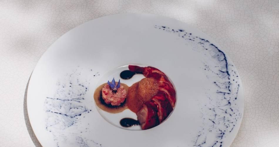 Restaurant La Madeleine - Hôtel Crillon le Brave@Matthieu Salvaing