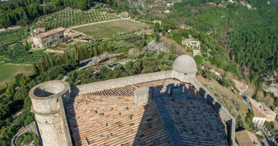 Le Barroux Castle@Droits gérés Alain Hocquel - Coll.CDT Vaucluse