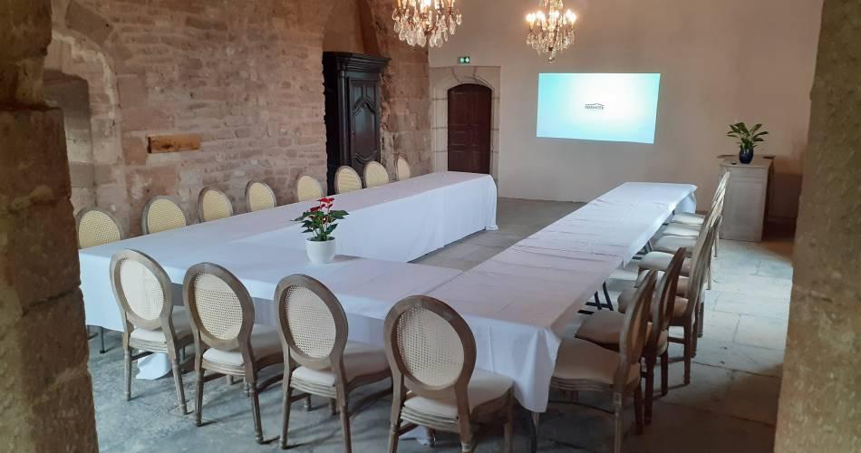 Le Barroux Castle@Coll. SAS Château du Barroux
