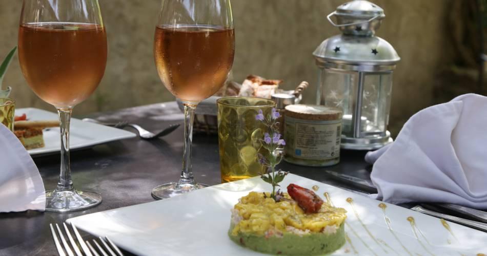 Restaurant Saveurs et Terroir - Les Géraniums@HOCQUEL Alain - Vaucluse Provence