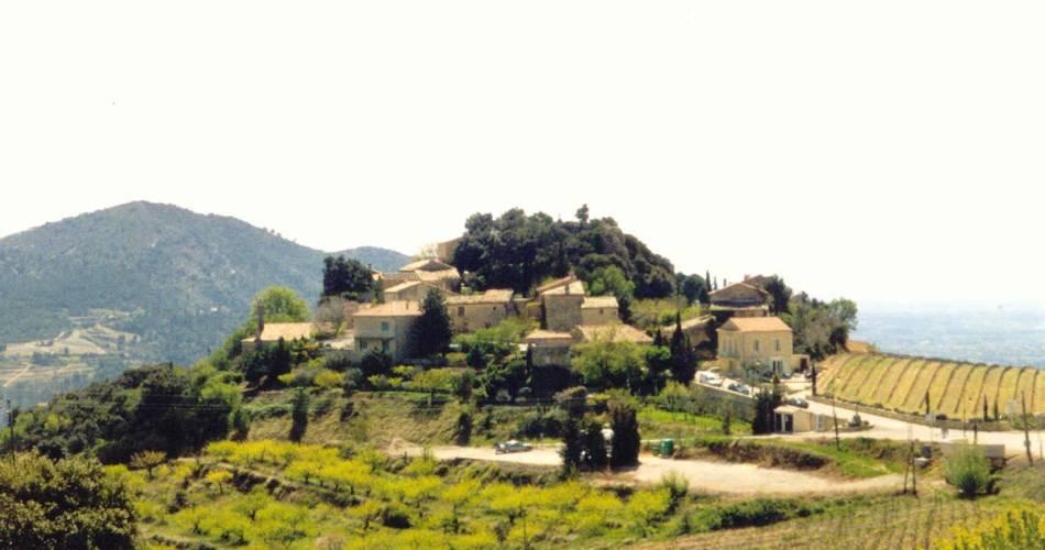 Le village de Suzette@Droits libres Alain Hocquel - Coll.CDT Vaucluse