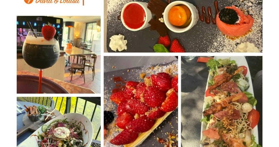 Restaurant les Terrasses by David & Louisa@Les Terrasses by David & Louisa Isle sur la Sorgue