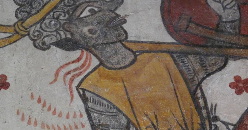 La Tour Ferrande@Droits gérés A. Vallois - Pernes; tour; médiévale; fresques