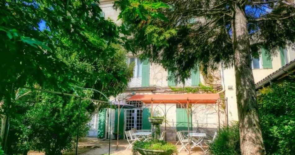 Au Saint Roch - Hôtel et Jardin@©ausaintroch