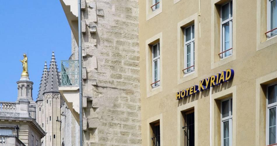Hôtel Kyriad Palais des Papes@©droitslibres