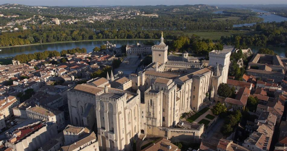 Palace of the Popes@Droits libres C. Rodde - Avignon Tourisme - Palais des Papes; Avignon