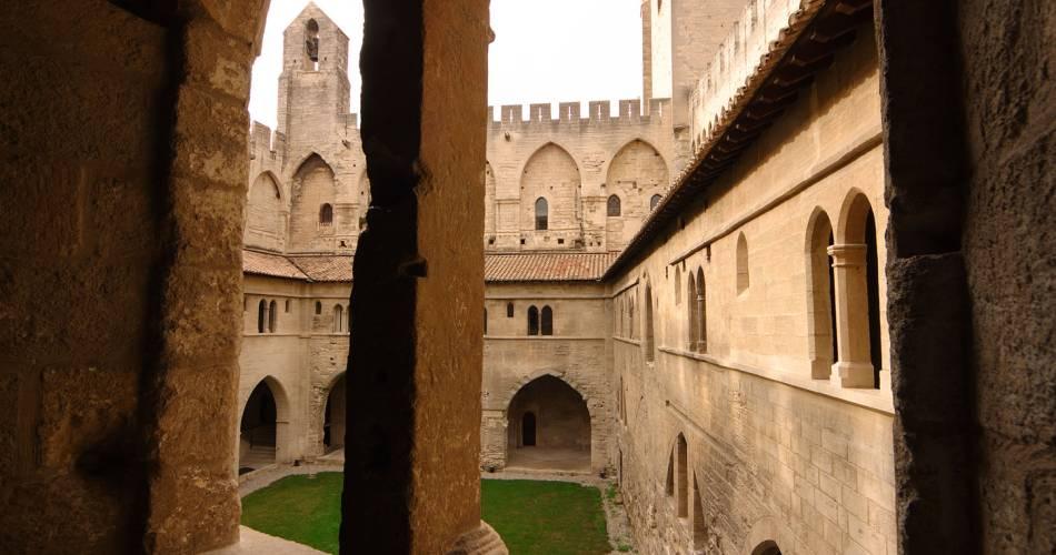 Palace of the Popes@Droits gérés D. Falco - Palais des Papes; Avignon