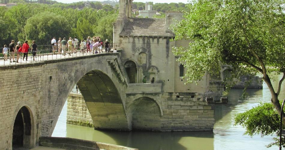 Pont d'Avignon (Saint-Bénezet)@Droits gérés Saluces