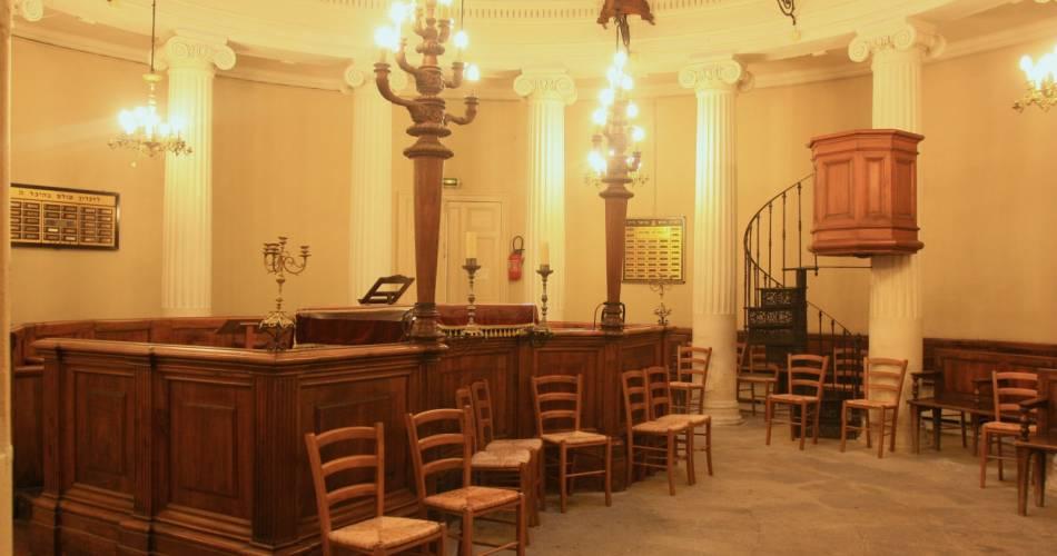 Synagogue d'Avignon@Droits gérés A. Hocquel / Collect ADT