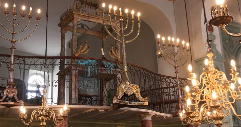 Itinéraire touristique - La route du Patrimoine Juif@A. Hocquel
