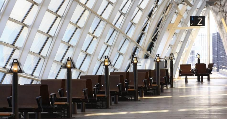 Avignon Gare TGV@Droits gérés HOCQUEL Alain - Collection ADT Vaucluse