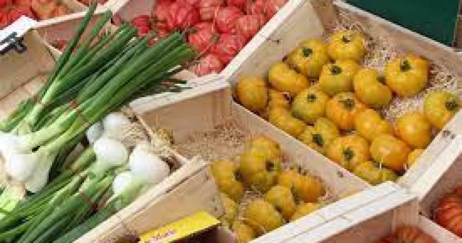 Abendlicher Erzeugermarkt in Montfavet@Droits gérés C.Rodde - Avignon Tourisme