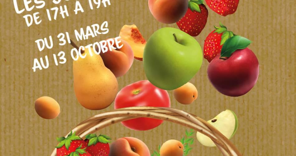 Marché du soir des producteurs de Vedène@Droits libres adt_vaucluse