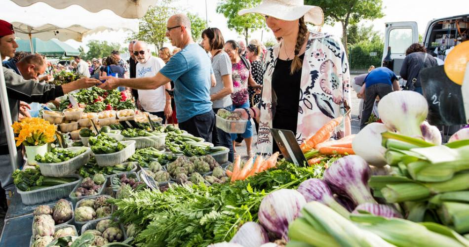 Outstanding Farmers' Market of Velleron@Droits gérés Alain Hocquel - Coll.CDT Vaucluse