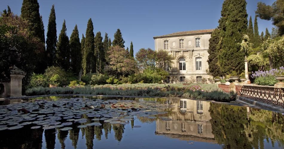 Abbaye Saint-André et ses jardins@Droits gérés Emmanuel Marre - Ville de Villeneuve lez Avignon