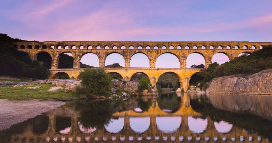 The Pont du Gard@Pont du Gard