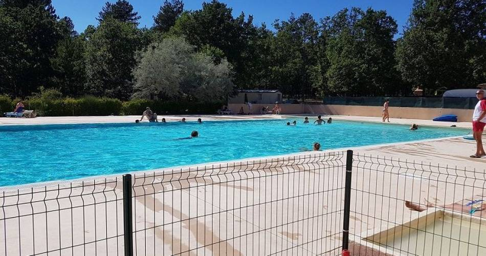Open air swimming pool@Camping Defends