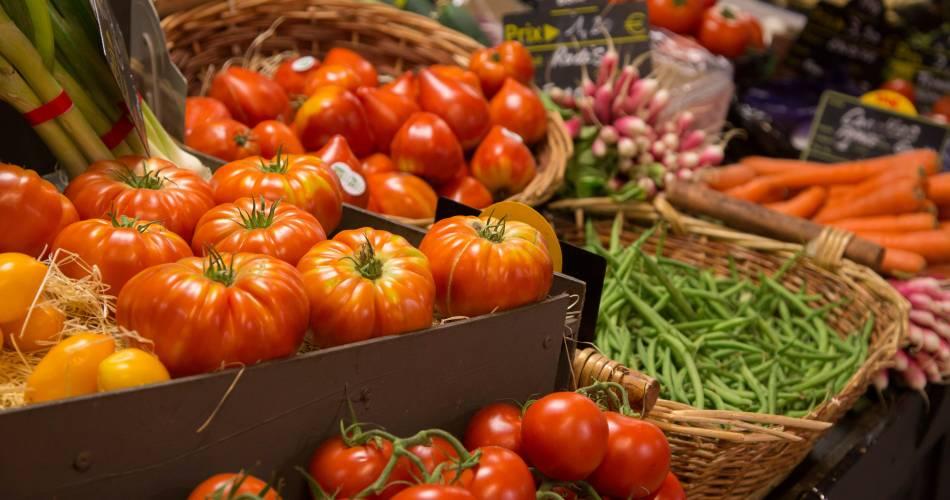 Les Halles Gourmandes - marché couvert@HOCQUEL A. / Coll. Vaucluse Provence