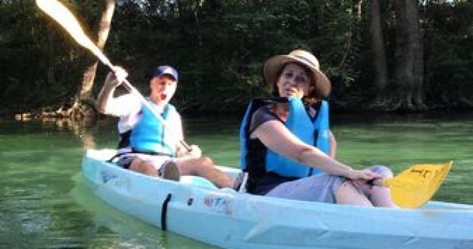 Afdaling per kano van de Sorgue bij Kano- en Kajakclub Islois@gwladys