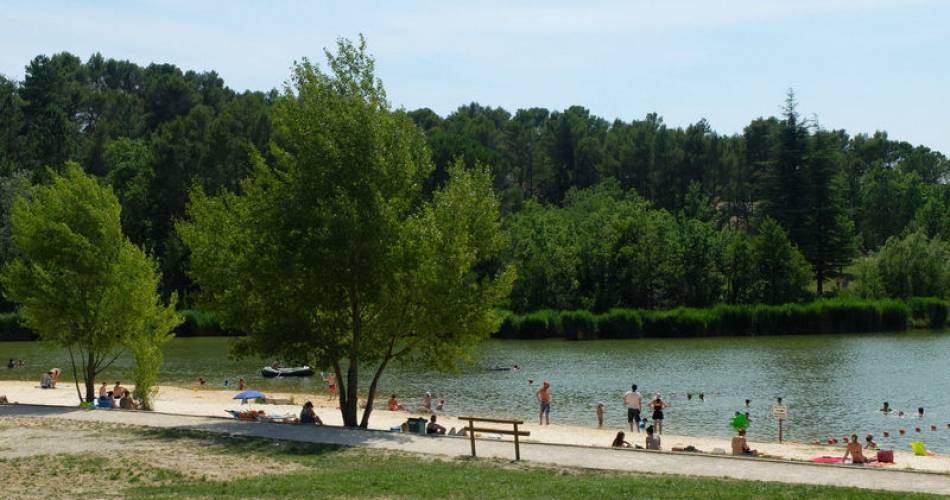 Les Salettes Lake@Droits gérés A. Hocquel / Collect ADT Vaucluse