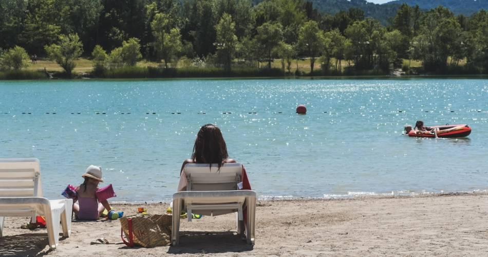 Lake at Val de Durance Campsite@Droits Gérés Homair