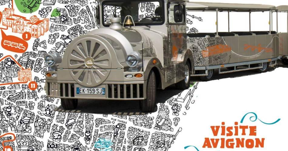 The Little Tourist Train in Avignon - Lieutaud Visite Avignon Tour@©terreneuve