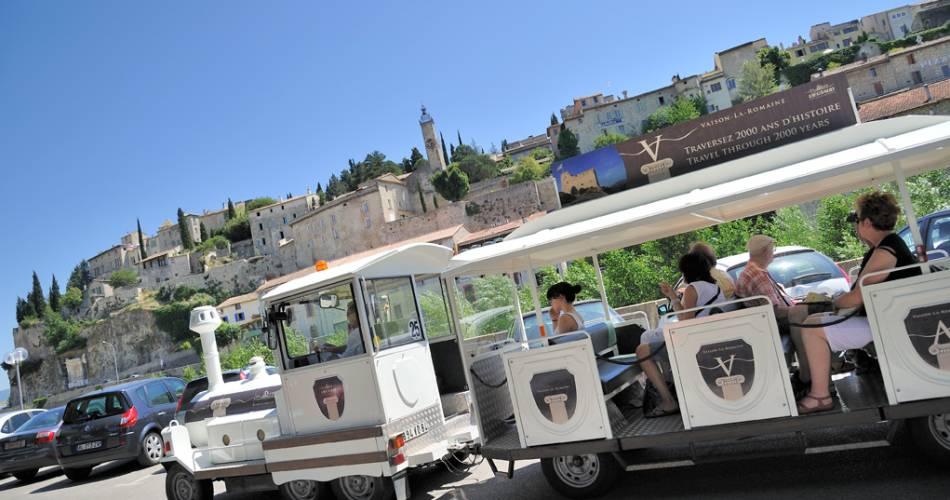 Vaison la Romaine Tourist Train@Lieutaud