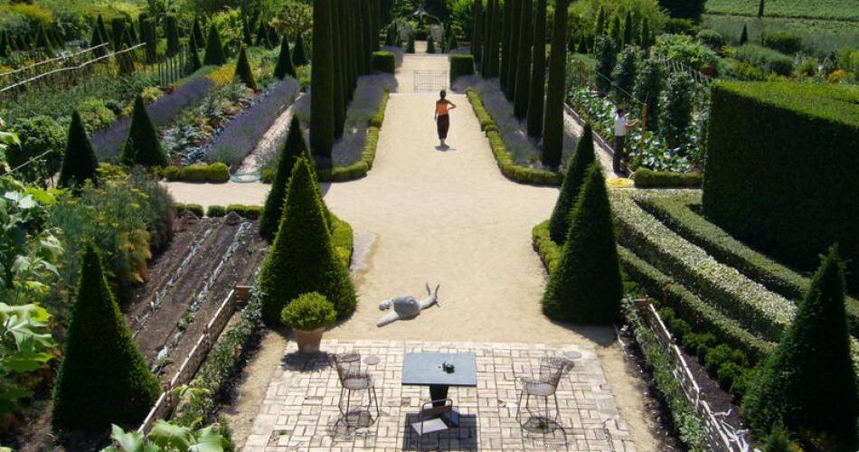 Le Jardin Remarquable du Château Val Joanis@Jardin remarquable Val Joanis