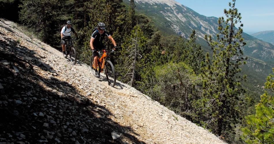 GTV per mountainbike Etappe 3 - Van Bedoin naar Aurel@Alain Hocquel