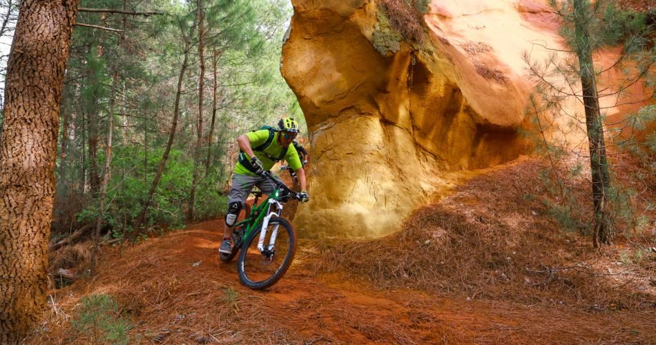 GTV per mountainbike Etappe 7 – Van Saint-Saturnin-les-Apt naar Vitrolles-en-Luberon@Alain Hocquel