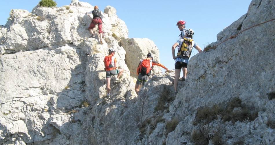 Klettern - Gigondas@Régis Leroy - Fédération départementale d'escalade