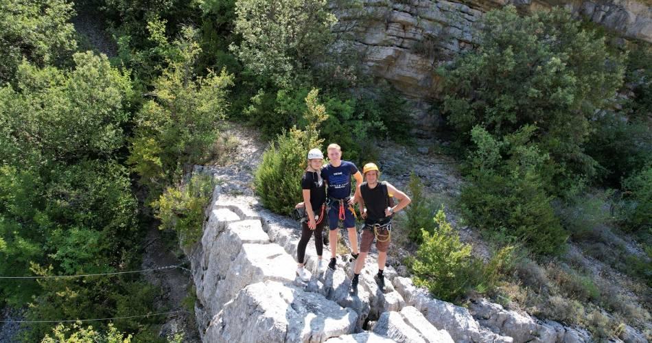 Rock climbing with the ASPA@HOCQUEL Alain