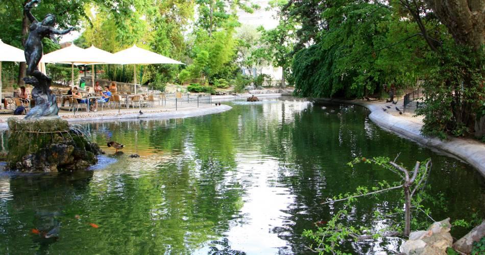 Le jardin du Rocher des Doms@HOCQUEL Alain / Coll. Vaucluse Provence