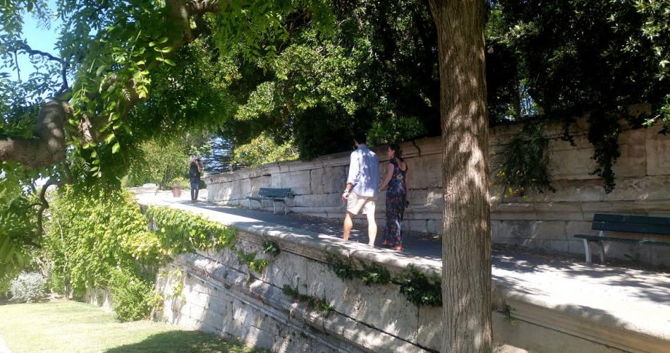 Le jardin du Rocher des Doms@VPA /H. Abry