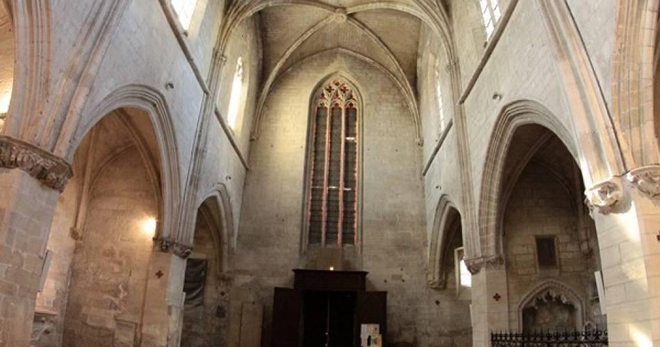 Collégiale Notre-Dame et son cloître@@Emmanuel Marre Mairie Villeneuve lez Avignon