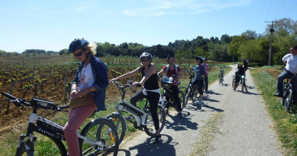 Bike ride into the vineyards of Châteauneuf-du-Pape@Cellier des Princes