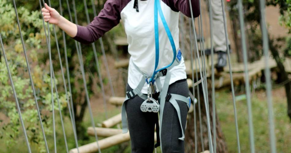 Forest treetop adventures – Passerelle des Cîmes@Jody Deiana