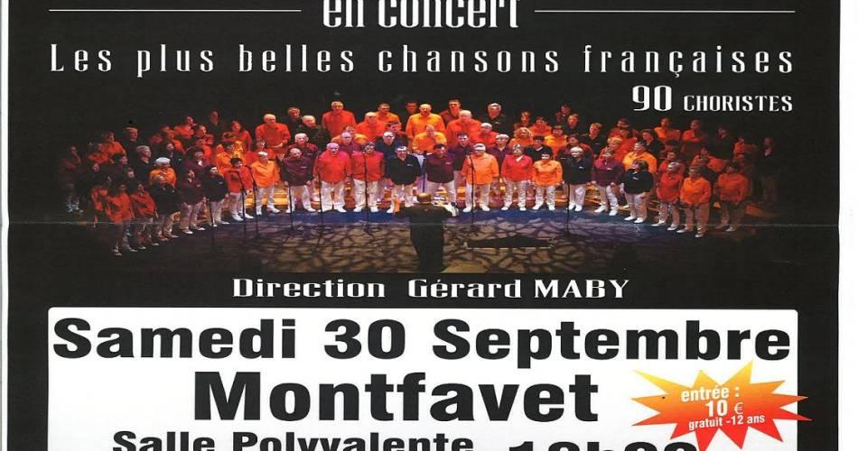 La chorale Haut de Gamme en concert@droits gérés