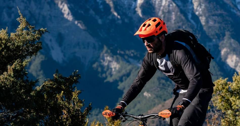 Etape 1 : Savoillans/Malaucène Traversée de Vaucluse VTT e-bike@Damien Rosso