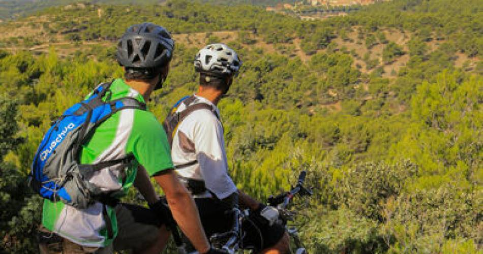 Etappe2: Malaucène/Bédoin - Überquerung des Vaucluse mit dem e-bike@A. Hoquel