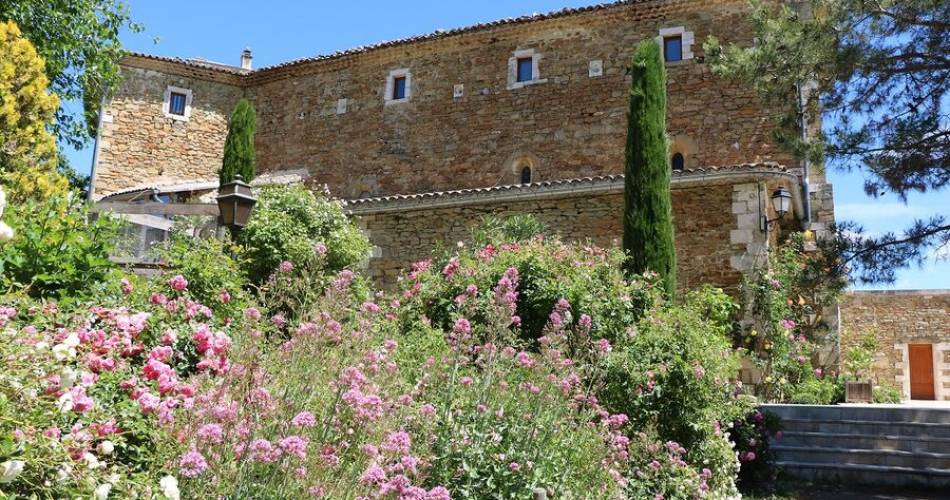 Jardin de l'abbaye de Valsaintes@Jardin de l'Abbaye de Valsaintes