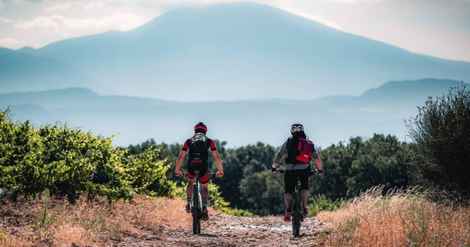 VTT n°7 - Tour du Pays d'Uchaux GPS@VERNEUIL T.
