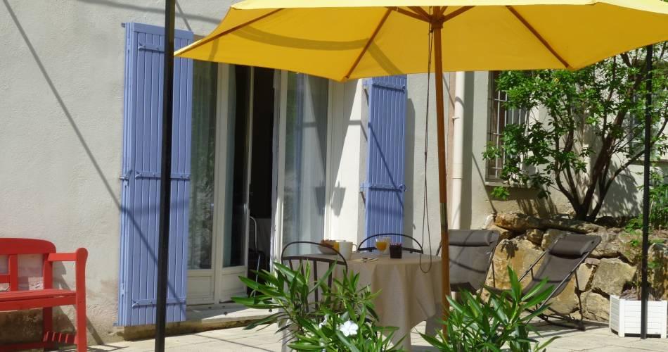 Gîte la Pinède du Barroux - Rasteau@LABRUNYE Dominique