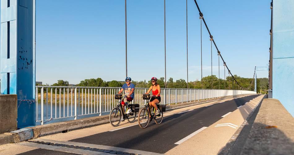 EV17 - Via Rhôna - Lapalud > Orange > Avignon@Christian Marthelet - Via rhona