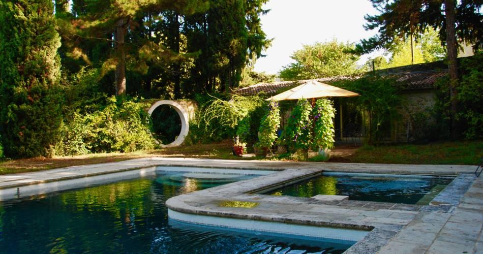Le Grand Jardin d'Elisabeth - Gîte Pool House@E. Fink