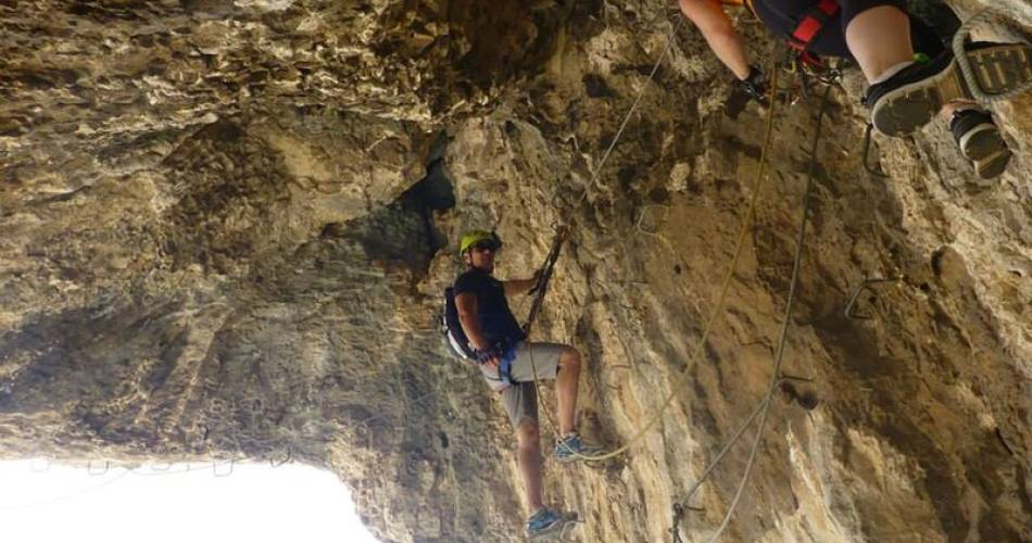 Franck Gaudini - Guide accompagnateur Escalade - Via Ferrata@Franck Gaudini